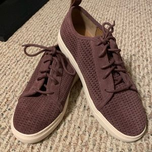 Beautiful Lucky Brand Berry Suede Tennis Shoes